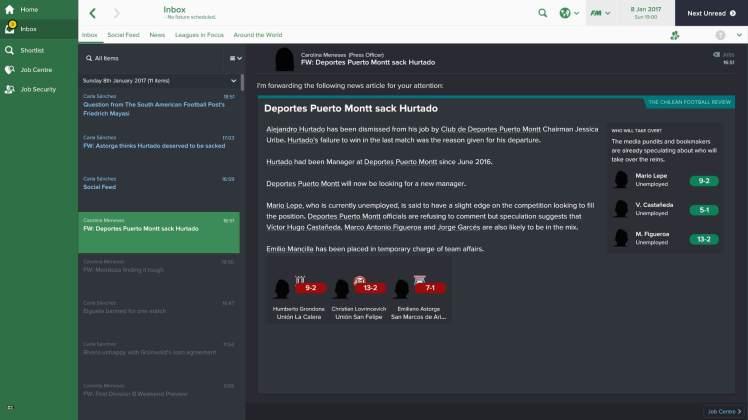 sacked