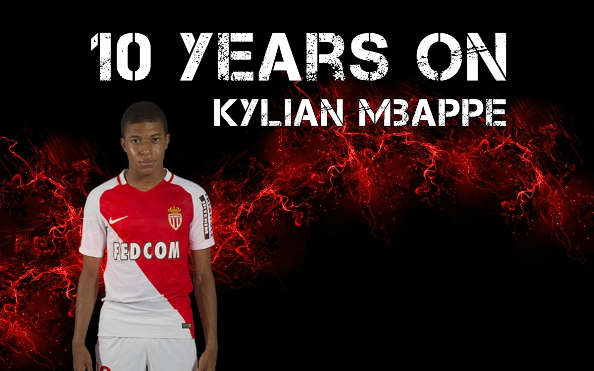 10 Years On | Kylian Mbappe | Football Manager Wonderkids