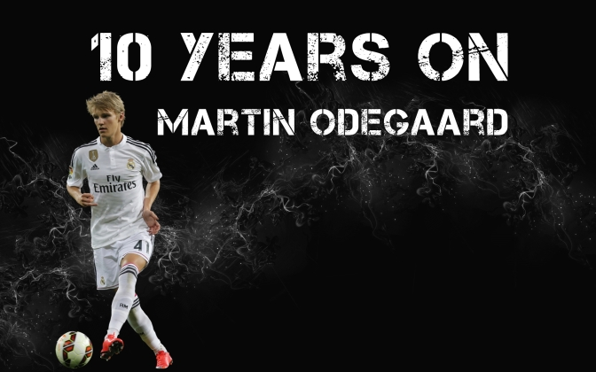 10 Years On | Martin Odegaard | #FM17 Wonderkids