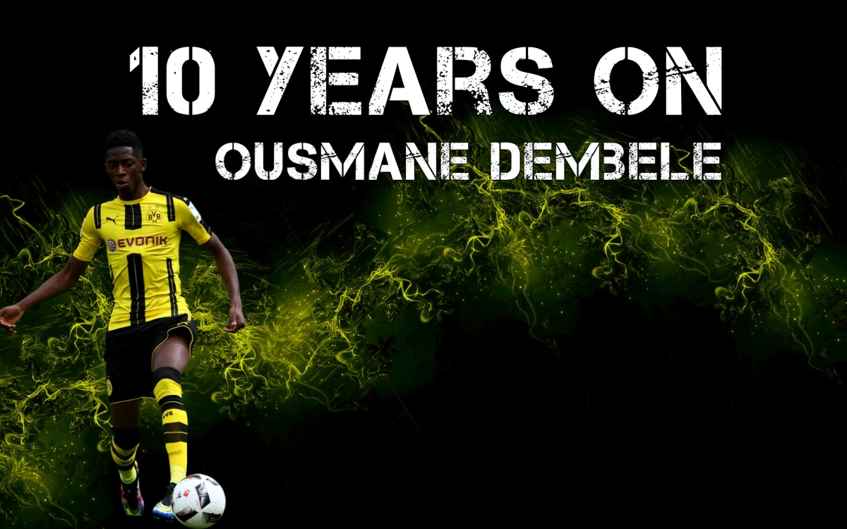 10 Years On | Ousmane Dembele | Football Manager Wonderkids
