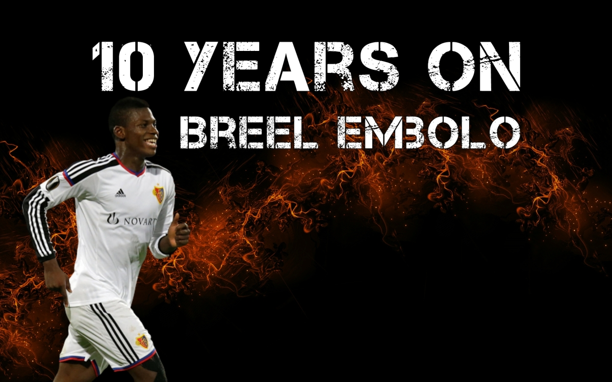 10 Years On | Breel Embolo | #FM17 Wonderkids