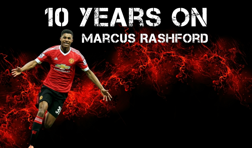 10 Years On | Marcus Rashford | #FM17 Wonderkids | VivaLaVidaFM