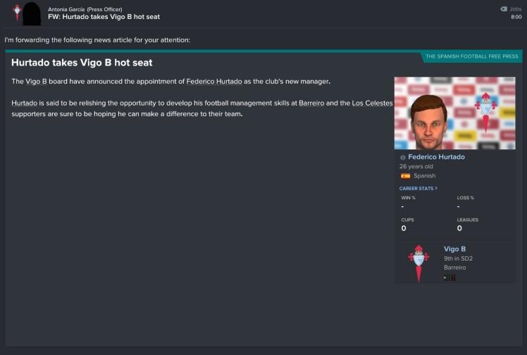 federico hurtado joins Vigo B