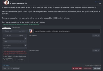 Henrique Canha transfer fee