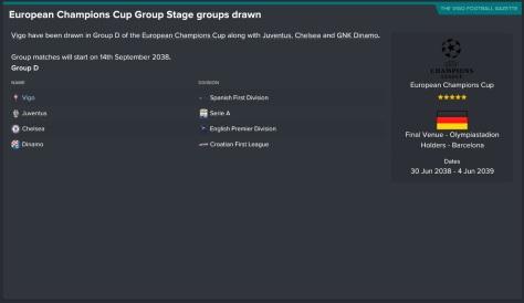 champions league group