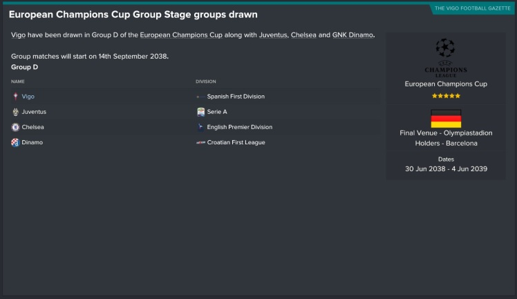 champions league group