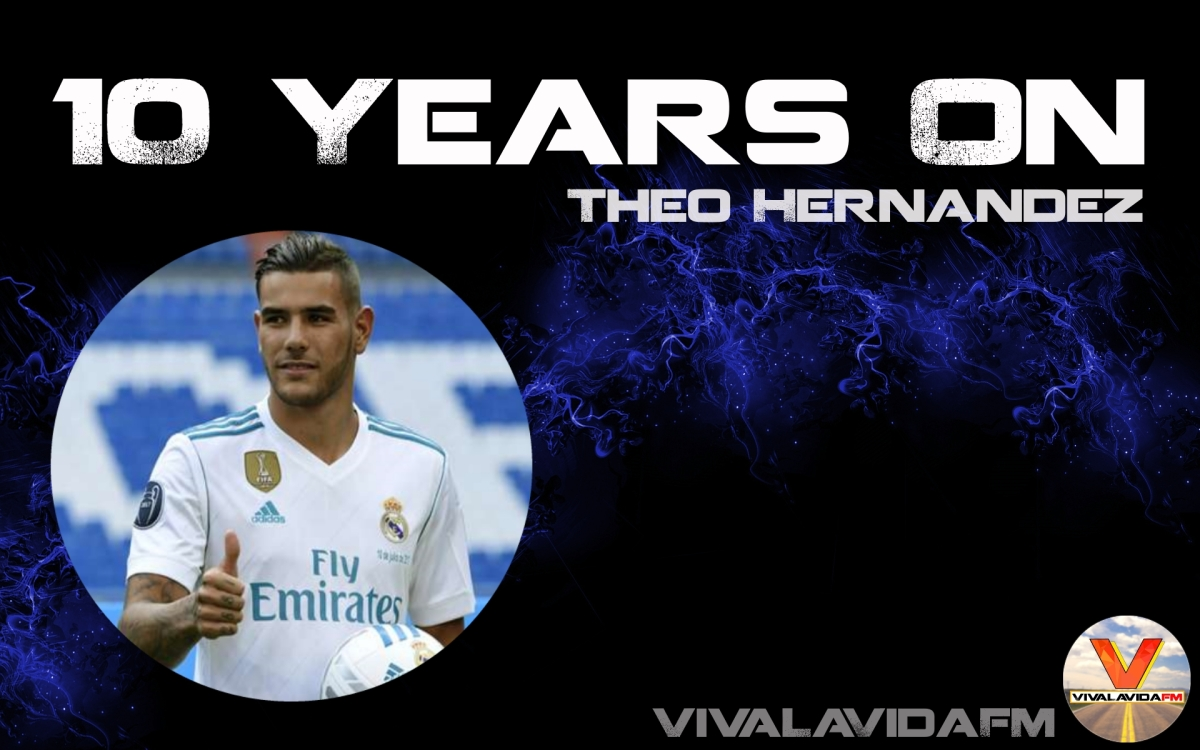 10 Years On | Theo Hernandez | Football Manager Wonderkids