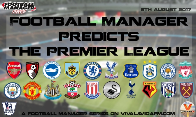 Football Manager Predicts The Premier League | Arsenal v Chelsea | Community Shield 2017