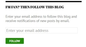 FM Fan then follow this blog