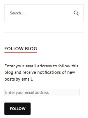 follow blog in sidebar image