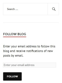 follow blog in sidebar image