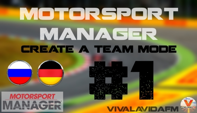 Part 1 | Motorsport Manager | Create a Team