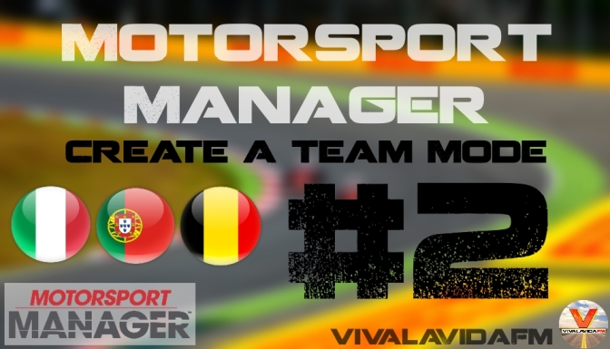 Part 2 | Motorsport Manager | Create A Team