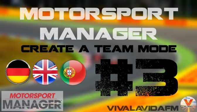 Part 3   Motorsport Manager   Create A Team