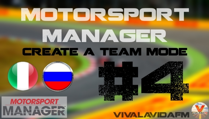 Part 4 | Motorsport Manager | Create A Team