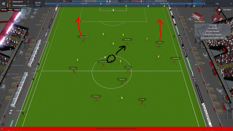 tactic with wingers