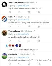 tweets 4-3-3