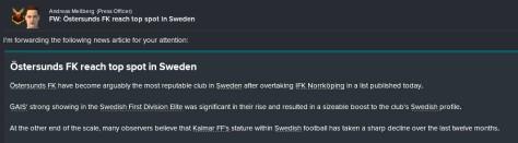 ostersund best in sweden