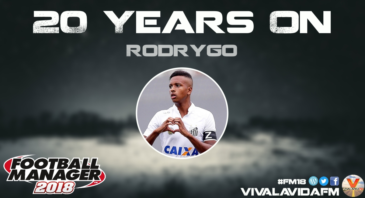 Rodrygo | 20 Years On | FM18 Wonderkids in Football Manager