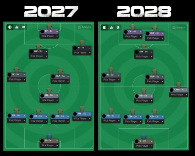 evolution of formation 27 to 28