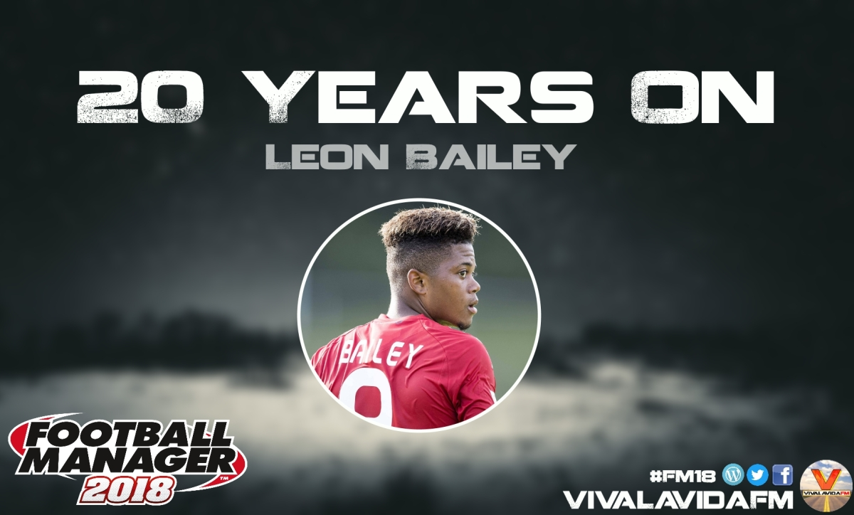 Leon Bailey | 20 Years On | FM18 Wonderkids in Football Manager