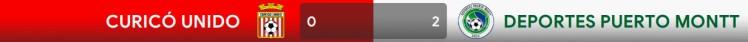 curico unido 0-2 puerto montt