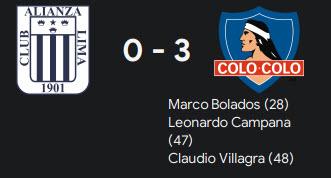3-0 win vs alianza
