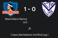 copa lib 2nd round leg 1
