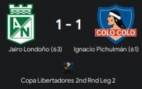 copa lib 2nd round leg 2